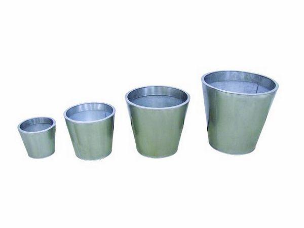 DECO Flowerpot zinc set o 55/45/35/25cm, discoland.fi