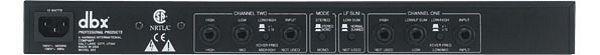 POISTO DBX223 Stereo jakosuodin 2-way/mono 3-way crossover. DBX huippu jakari, poistohintaan!