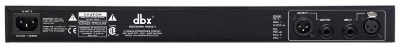 DBX 131S HOPEA Single 1x 31 kanavainen graafinen taajuuskorjain.