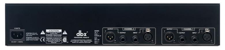 DBX 231S HOPEA graafinen eq 2x 31- alueinen, erittäin laadukas