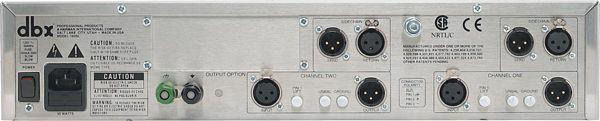 DBX 160SL Stereo compressor/limiter, high-drive output transformer