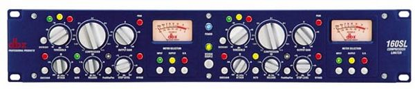 DBX 160SL Stereo compressor/limiter, hig, discoland.fi