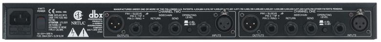 DBX 1066 Dual compressor limiter gate, selectable auto or manual/variable attack and release compression