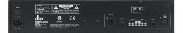 DBX 2031, 31- alueinen EQ, erittäin laadukas, varustettu limitterillä. Single 31-band graphic equalizer and limiter