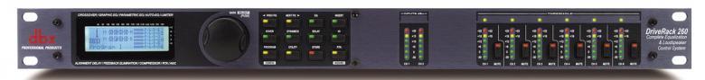 DBX 260 Driverack kaiutin prosessori on , discoland.fi