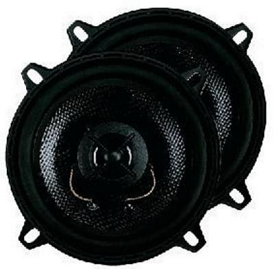 MONACOR Autokaiutin sarja, CRB-130CP, Pair of 2-way car chassis speakers, 4 Ohm