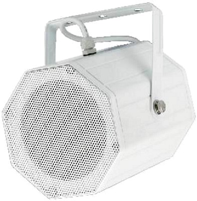 MONACOR EDL-112/WS, Professional PA wall and ceiling speaker 12/6/3W RMS
