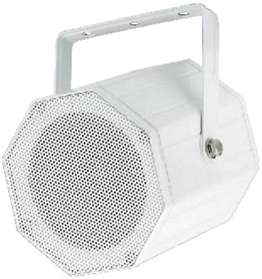 MONACOR EDL-115/WS, Professional PA wall and ceiling speaker 15/7,5/3,75W RMS