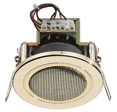 MONACOR EDL-82/GO, PA ceiling speakers 1, discoland.fi
