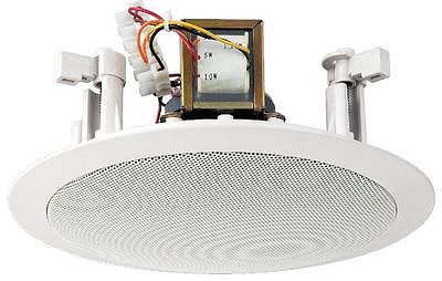 MONACOR EDL-26, PA ceiling speakers 1,25, discoland.fi