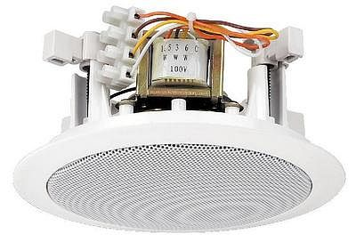MONACOR EDL-24, PA ceiling speakers 1,5/3/6W RMS
