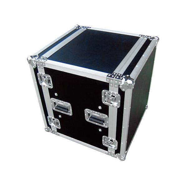 OMNITRONIC Vahvistinräkki & kuljetuslaatikko, mallia iskunkestävä 19
