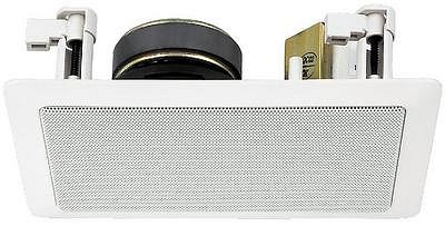 MONACOR ESP-15/WS, PA HiFi wall and ceiling speaker 1/2/4/7,5/15W RMS