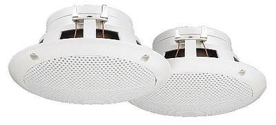 MONACOR SPE-130/WS, Pairs of flush-mount full range speakers 20W RMS