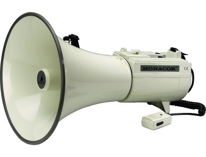 MONACOR TM-45 ISO PRO Megafoni irrotetta, discoland.fi
