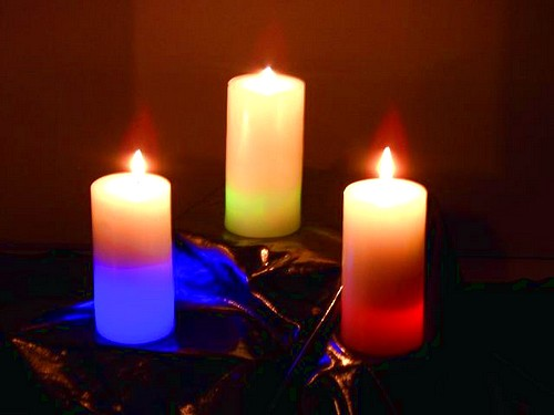 EUROLITE Asiakaspalautus LED Candle lenght 14cm rad. 3,25cm 3 pieces