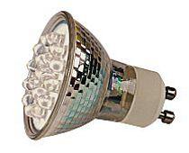 OMNILUX GU-10 LED polttimo vihreä 230V , discoland.fi