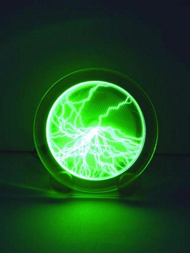 EUROLITE Plasma lautanen, vihreä 15cm, , discoland.fi