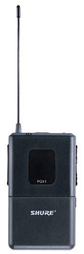 SHURE PGX14E/WH20, Taskulähetinjärjestelmä, WH20TQG-päämikrofoni (hertta), PGX1-lähetin ja PGX4-vastaanotin. WH20 -päämikrofoni. puhe-, aerobic yms. käyttöön. Vastaanotin rackiin URT-hyllyn avulla.