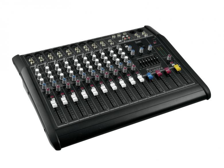 OMNITRONIC LS-1222A Mikserivahvistin 2x , discoland.fi
