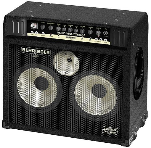"BEHRINGER ULTRABASS BX4210A 450-Watt Bass Workstation with 2 Original BUGERA™ 10"" Aluminum-Cone Speakers and 1"