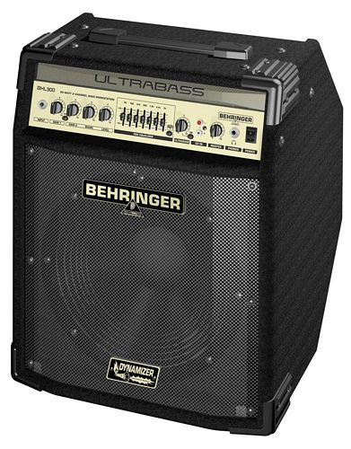 BEHRINGER ULTRABASS BXL900 90-Watt 2-Channel Bass Workstation with Original BUGERA™ 12' Speaker, FBQ Spectrum Analyzer and Ultrabass Processor