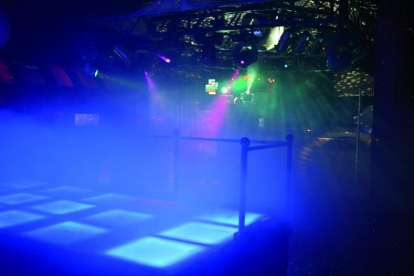 FUTURELIGHT Loppu!!PPP-60 LED Floor Panel RGB, 610x610mm, 288 LEDs, 25W, tanssilattia efekti vaihtuvin värein, 7 väriä + moniväri!