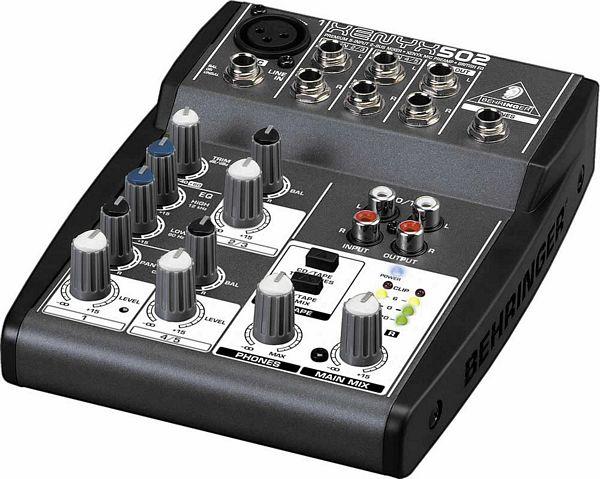 BEHRINGER LOPPU!XENYX502 on näppärä p, discoland.fi