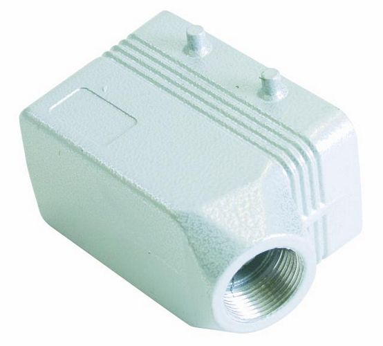 EUROLITE Socket casing for 10-pole, PG 16, angle