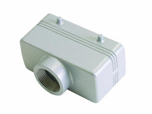 EUROLITE Socket casing for 16-pole, PG 21, straight