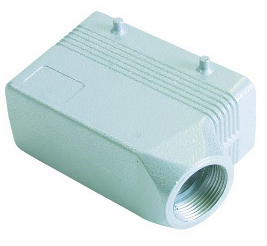 EUROLITE Socket casing,for 16-pole,PG21,angle