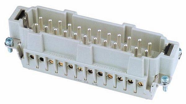 EUROLITE Plug insert 24-pole 16A,screw t, discoland.fi
