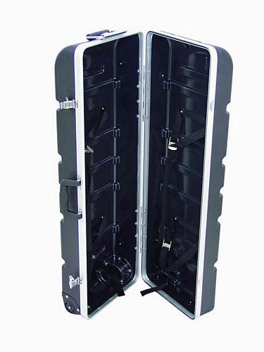 DIMAVERY ABS Drum Hardware Case, Case symbaali ja hi hat telineille etc..