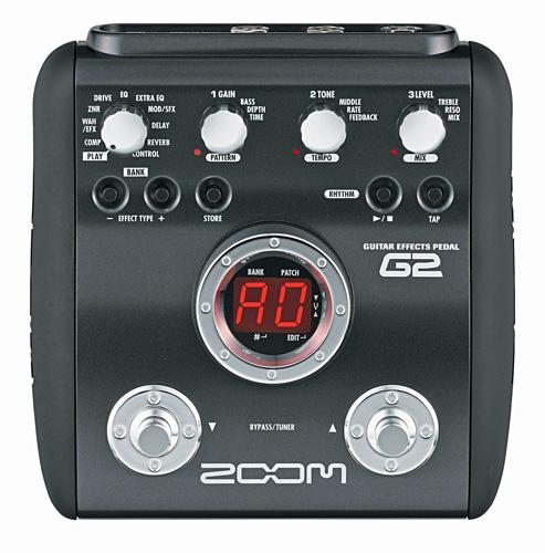 ZOOM G2 FX Kitaramultiefekti, 54 efekti�, discoland.fi