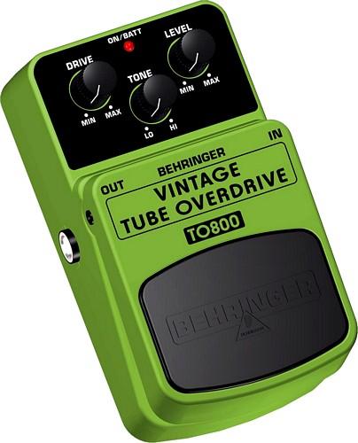 BEHRINGER VINTAGE TUBE OVERDRIVE TO800 V, discoland.fi
