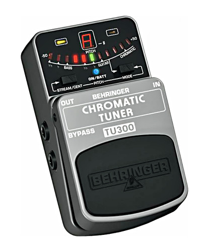 BEHRINGER CHROMATIC TUNER TU300 Ultimate, discoland.fi