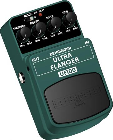BEHRINGER ULTRA FLANGER UF300 2-Mode Flanger Effects Pedal