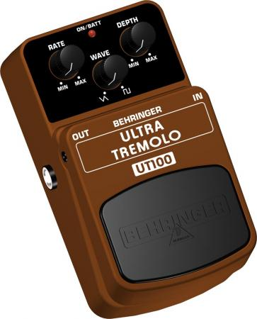 BEHRINGER ULTRA TREMOLO UT100 Classic Tremolo Effects Pedal