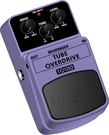 BEHRINGER TUBE OVERDRIVE TO100 Authentic, discoland.fi