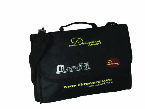 DIMAVERY Carrying Bag, black 36.5 x 26 c, discoland.fi