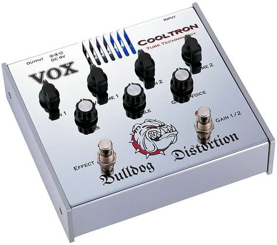 VOX Bulldog Distortion Cooltron DS, discoland.fi