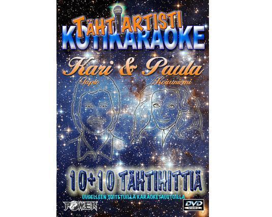 POWER Tähti artisti koti DVD - Kari Tap, discoland.fi