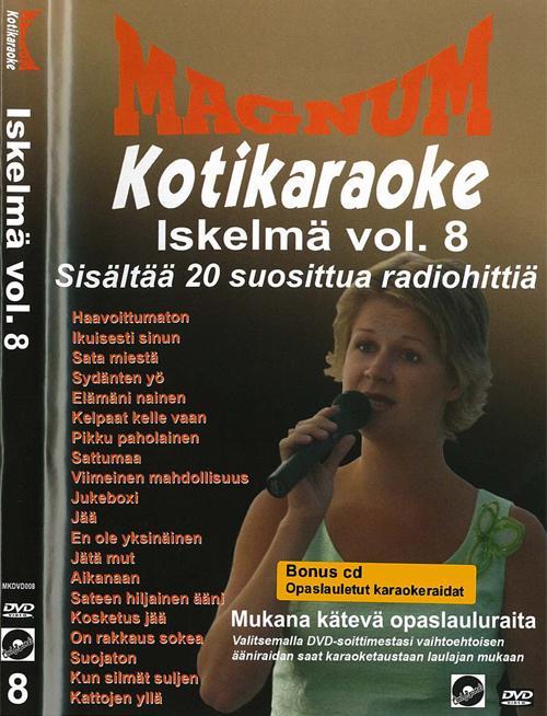 POISTO Magnum Kotikaraoke Iskelmä Vol 8, discoland.fi