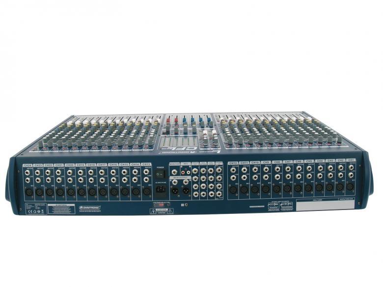 OMNITRONIC CFL-2442 on laadukas mikseri edulliseen hintaan. Mikserisarja soveltuu keikkakäyttöön. Sarjassa neljä erikokoista mikseriä 16-32 mono kanavaa.24-channel live mixer, 24 mono inputs with XLR-sockets and balanced line inputs