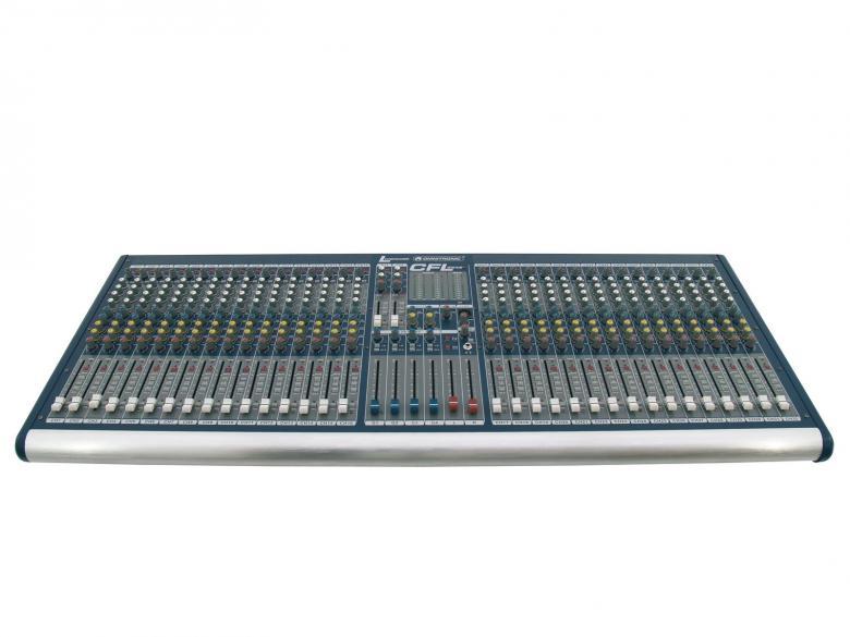 OMNITRONIC CFL-3242 on laadukas mikseri edulliseen hintaan. Mikserisarja soveltuu keikkakäyttöön. Sarjassa neljä erikokoista mikseriä 16-32 mono kanavaa. 32-channel live mixer, 32 mono inputs with XLR-sockets and balanced line inputs