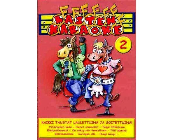 KARAOKE DVD Lasten Karaoke 2 DVD karaoke, discoland.fi