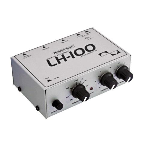 OMNITRONIC LH-100 Audio-oskillaattori, j, discoland.fi
