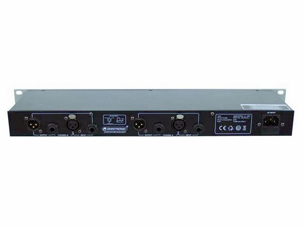 OMNITRONIC CL-266 2-channel Compressor-Limiter-Gate, with peak-control, variable independent gate with threshold & release-control