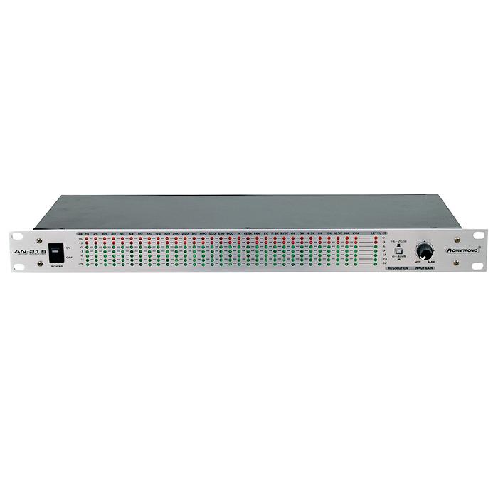 OMNITRONIC AN-31S Audio Analysaattori 31, discoland.fi