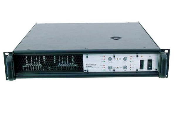 OMNITRONIC MCR-4250 Amplifier, 4x 225W 4, discoland.fi